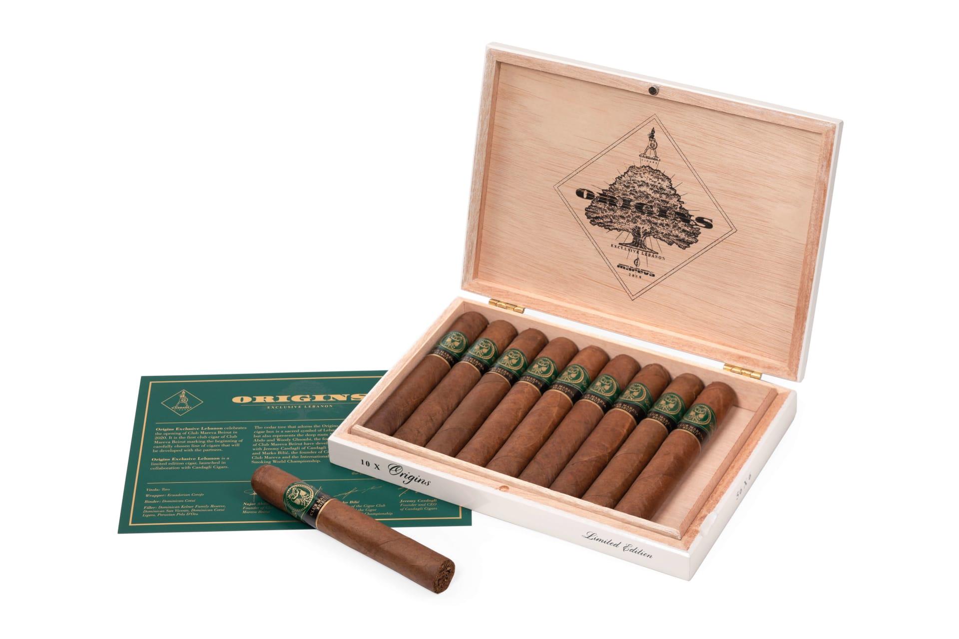 Cigar News: Casdagli Announces Origins – Lebanon Exclusive Featured Image