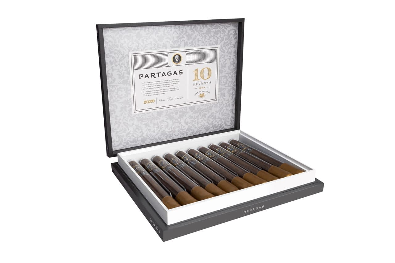 General Cigar releases Partagas Limited Reserve Decadas 2020 Featured Image