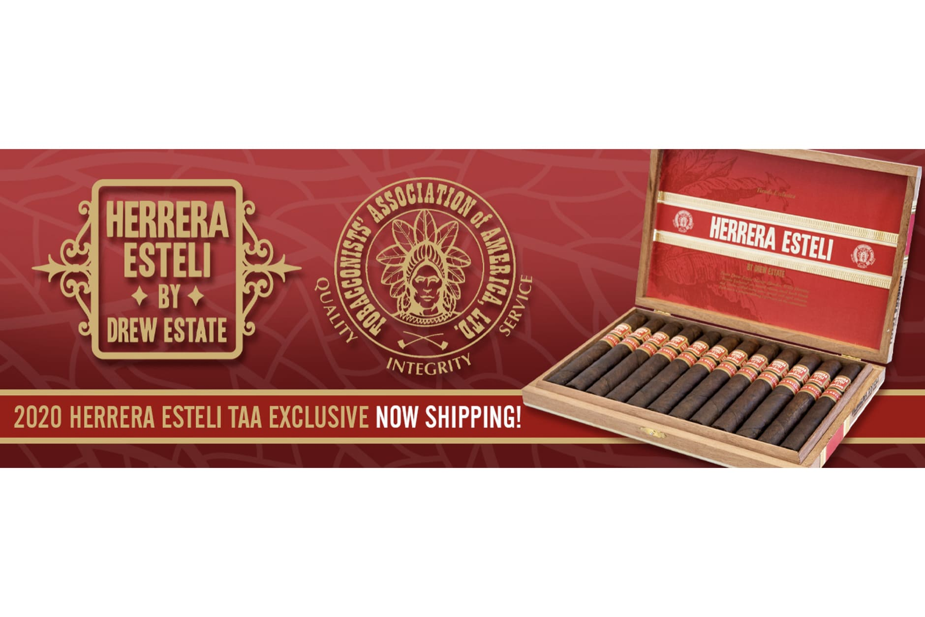 Drew Estate Begins Shipping Herrera Estelí TAA Exclusive 2020 Featured Image