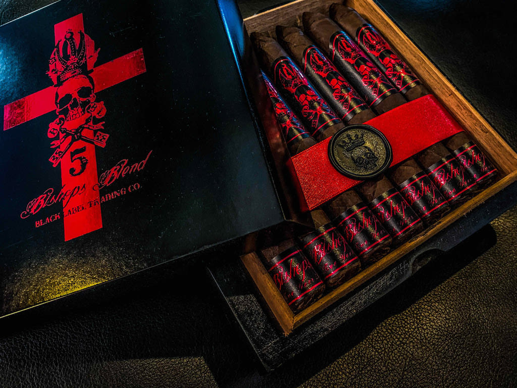 Black Label Shipping 5th Anniversary Bishops Blend Featured Image