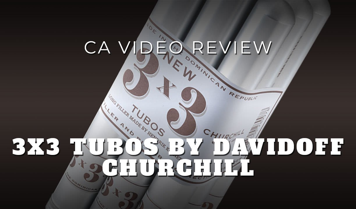 CA Review Panel: Davidoff 3×3 Tubo Cigar Review (Video) Featured Image
