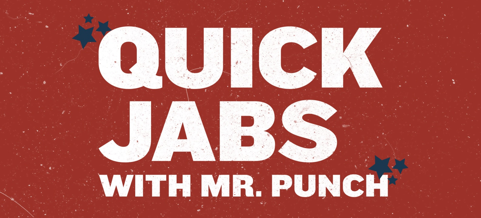 Quick Jabs with Mr. Punch Featured Image
