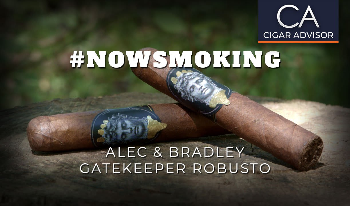 #nowsmoking: Alec & Bradley Gatekeeper Robusto Featured Image