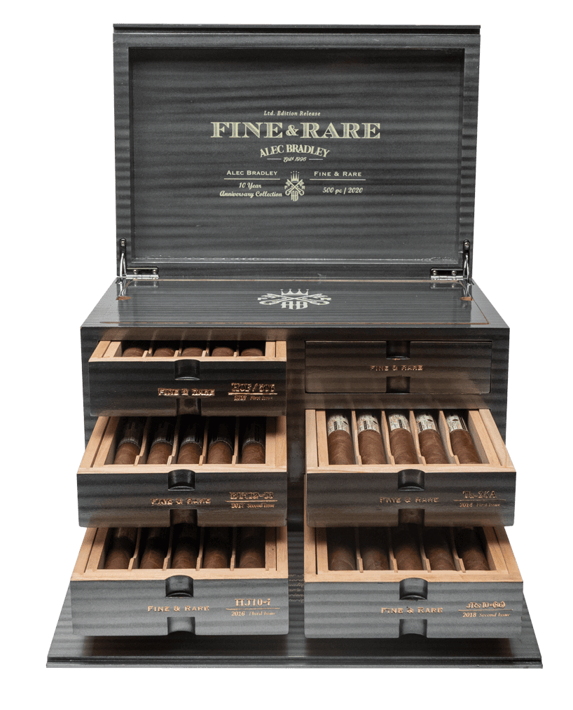 Cigar News: Alec Bradley Shipping 10 Year Anniversary Fine & Rare Sets Featured Image