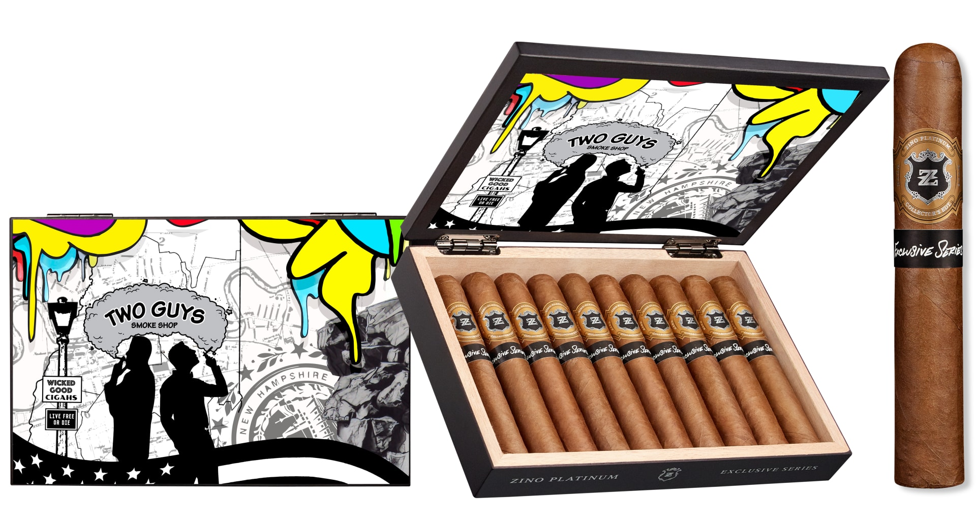 Cigar News: Two Guys Smoke Shop Announces Zino Platinum Exclusive Series Featured Image