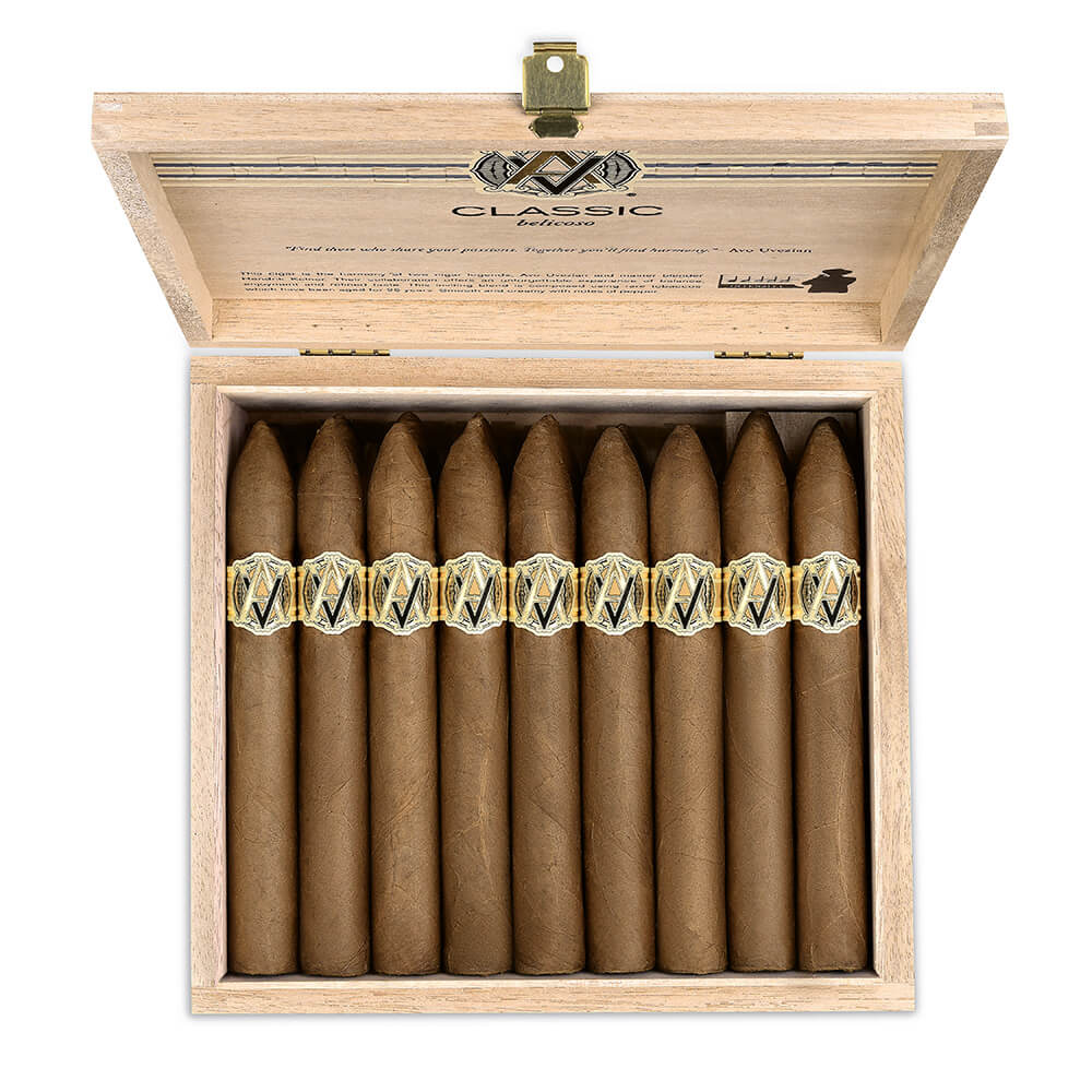 Cigar News: AVO Brings Back Classic Belicoso Featured Image