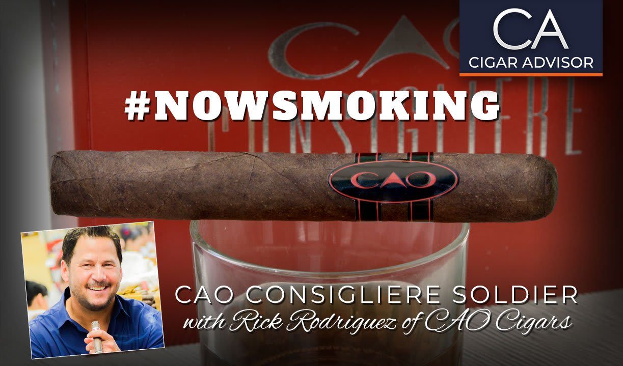 #nowsmoking: CAO Consigliere Soldier Featured Image