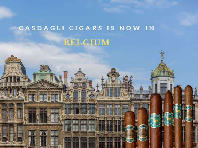 Casdagli Cigars Are Being Launched in Belgium Featured Image