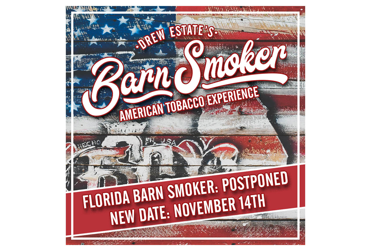 Drew Estate Postpones Florida Barn Smoker 2020 Due to COVID-19 Featured Image