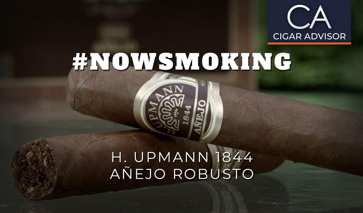 #nowsmoking: H. Upmann 1844 Anejo Robusto Featured Image