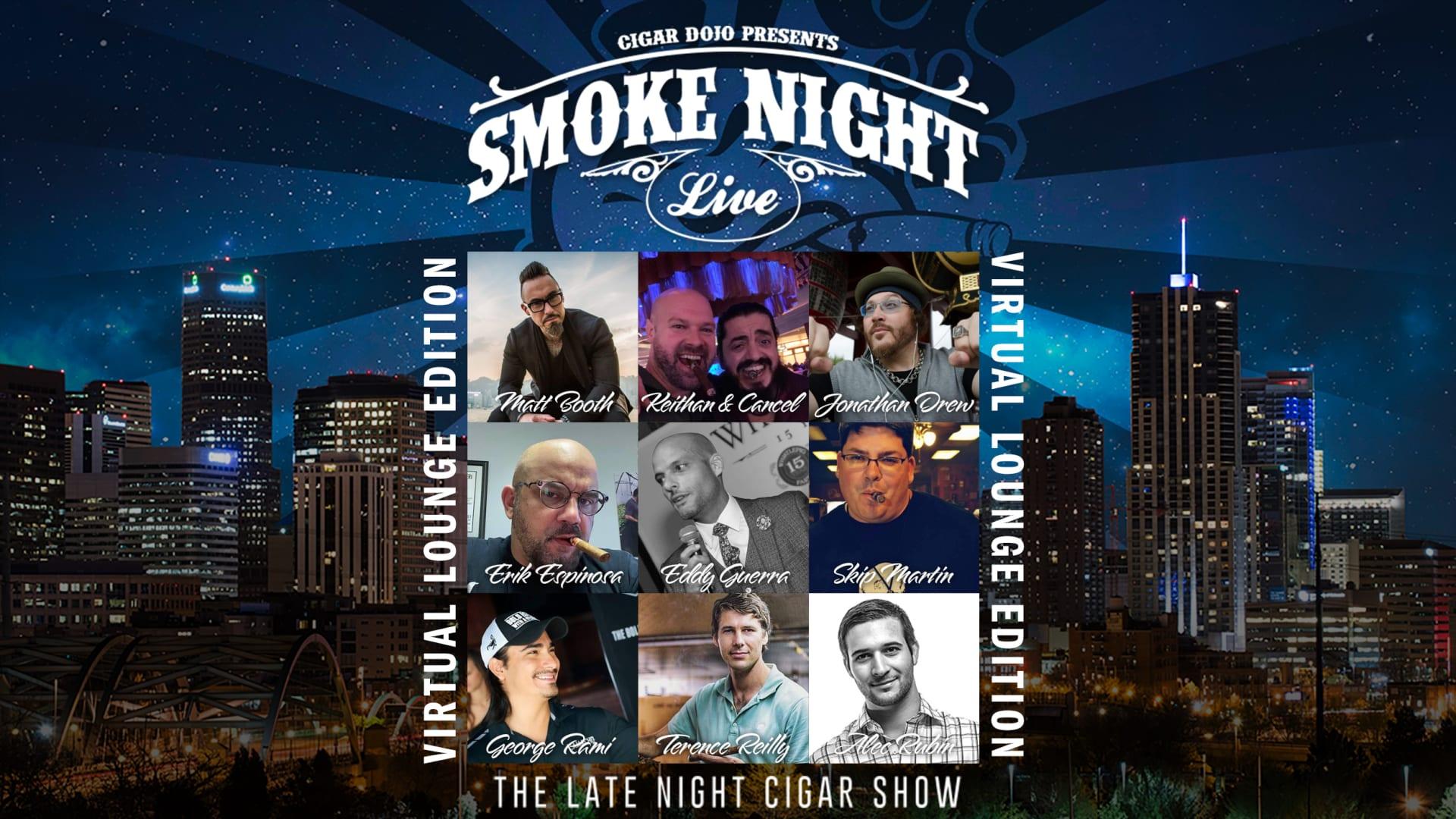 Smoke Night LIVE Virtual Lounge Edition Featured Image