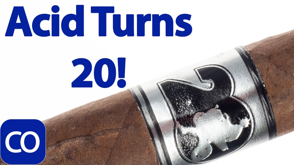 ACID 20 by Drew Estate Toro Cigar Review Featured Image