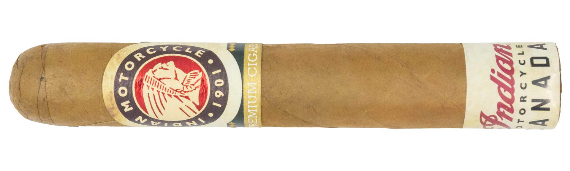 Blind Cigar Review: Indian Motorcycle | Connecticut Shade Robusto Featured Image