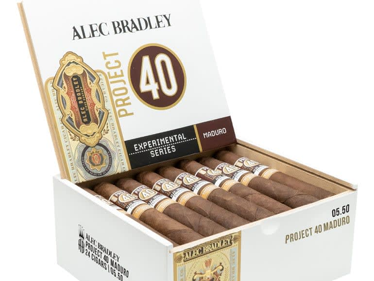 Alec Bradley Cigar Co. Now Shipping Project 40 Maduro Featured Image