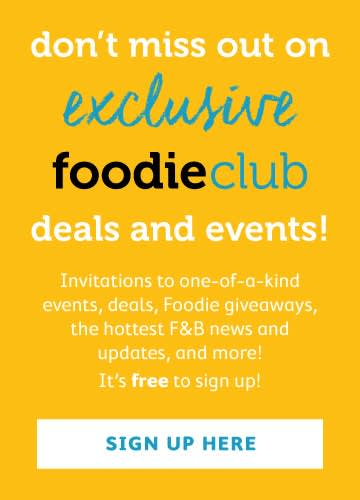 Signup to the Foodieclub