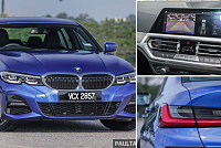 The BMW 330i M Sport 2019 is both...
