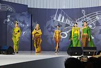 Korean actors wear Khmer outfits...