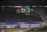 Monster Jam takes trucks to new heights