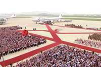The arrival of Xi Jinping was widely...