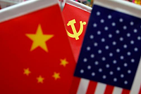 The US and China are locked in a...