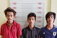 Send three suspects to drug courts