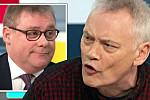 ITV GMB row: Francois shuts down...