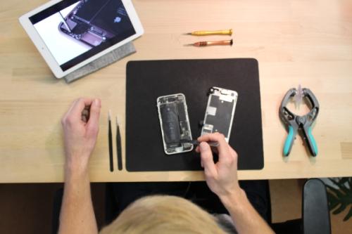 HTC selbst reparieren