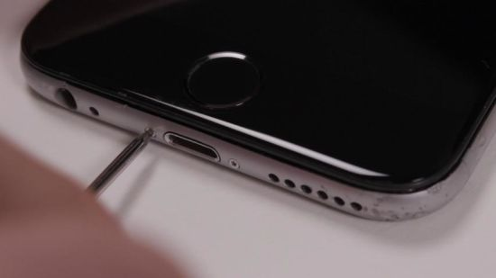 Apple iPhone 6 Display Reparaturanleitung Schritt 8: iPhone 6 Gehäuse verschrauben