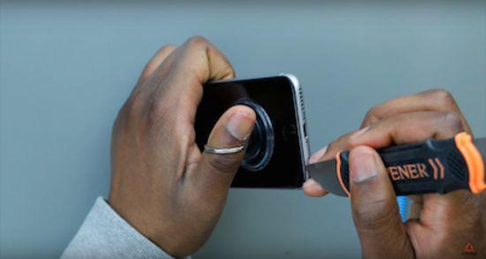 Apple iPhone 6s Akku Reparaturanleitung Schritt 1: Öffne das iPhone 6s