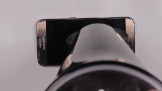 Samsung Galaxy S7 Display Reparaturanleitung Schritt 7: Display erwärmen