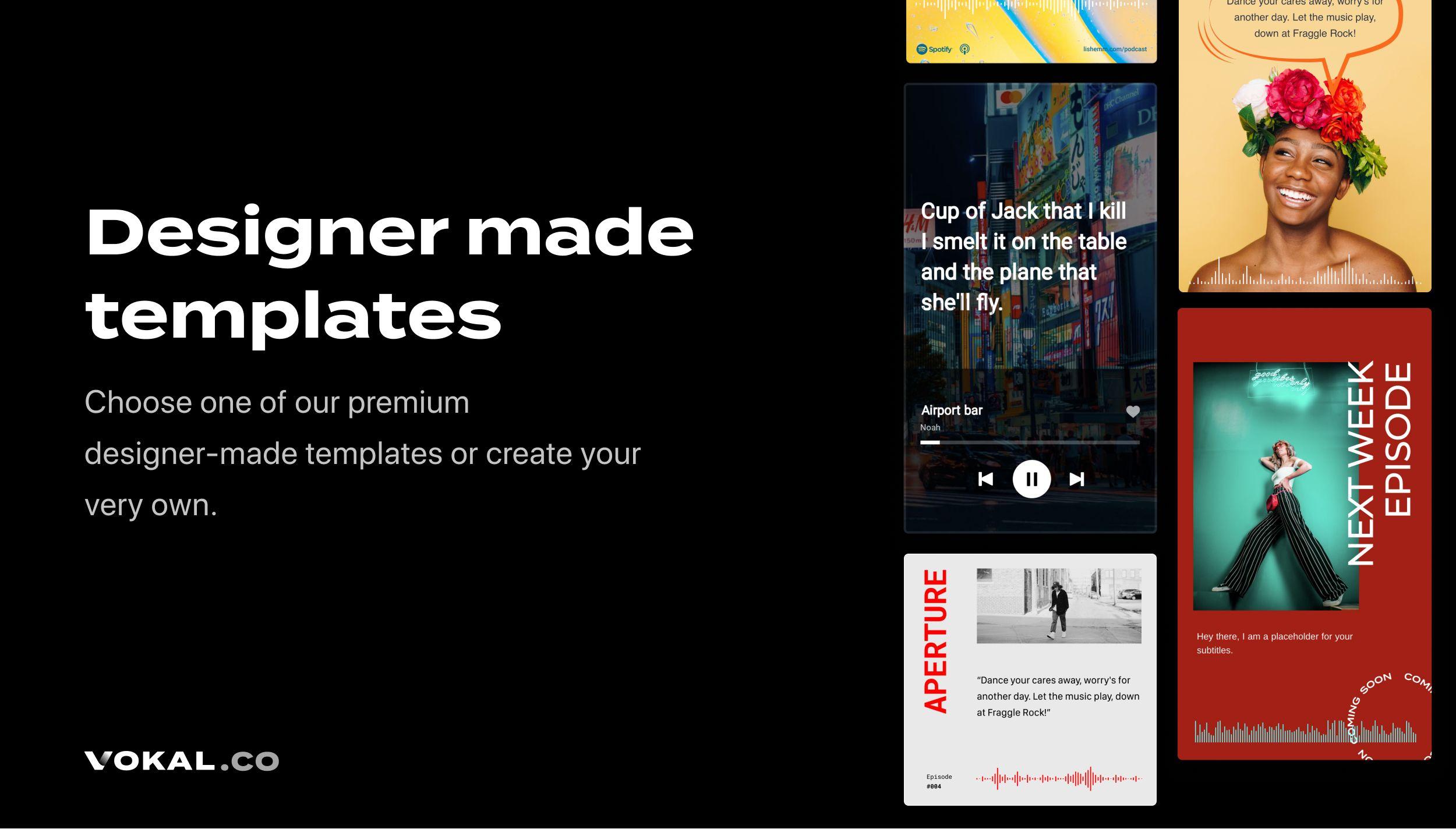 Vokal - Super easy video editor for audio creators | Roast My Website
