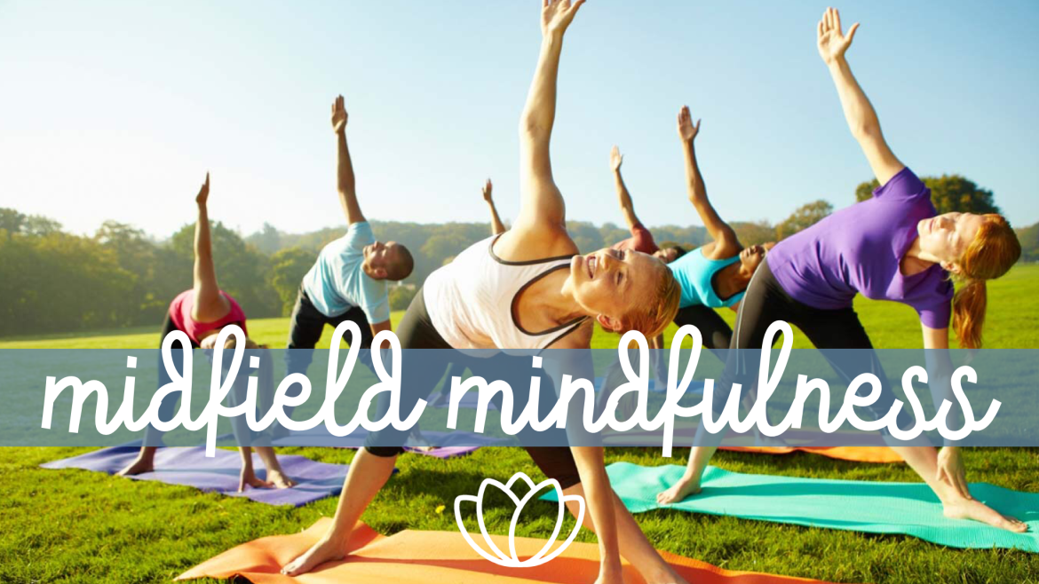 Midfield Mindfulness - Yoga for Parents logo