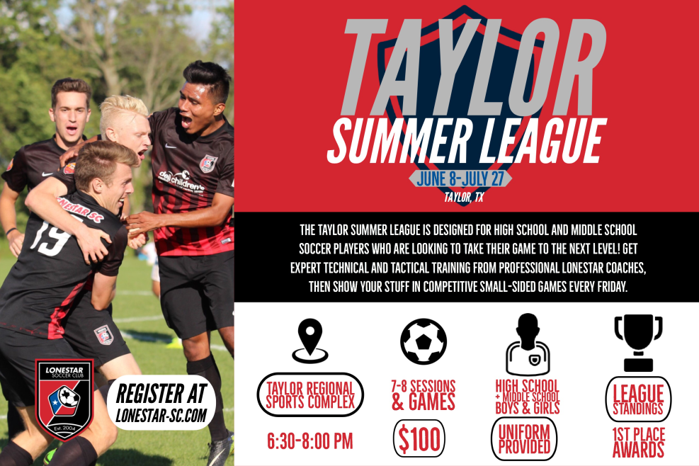 Taylor Summer League logo