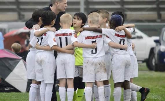 Competitive Youth Soccer Players