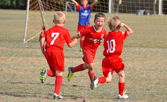 Junior Academy Soccer Players