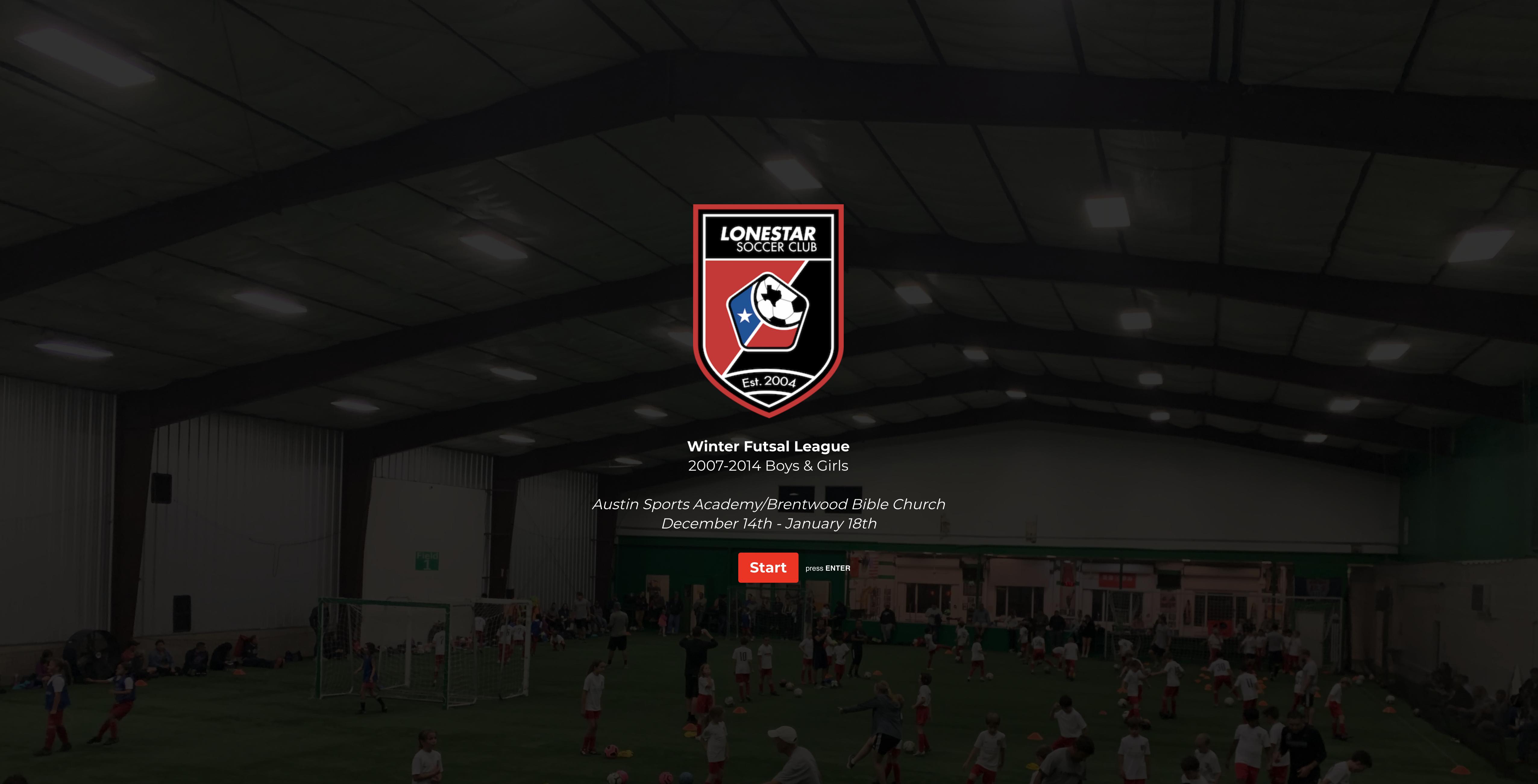 Winter Futsal League logo
