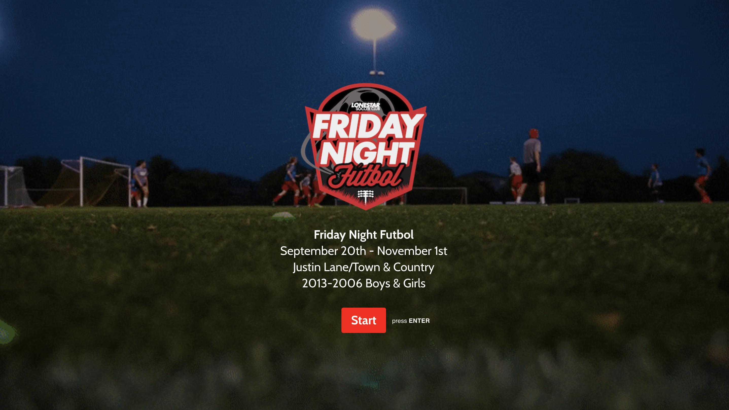 Friday Night Futbol logo
