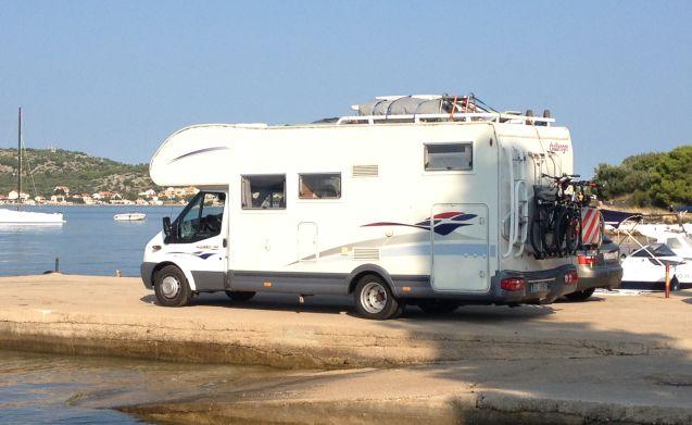 Arnaudsub – Challenger Mageo 192 met een grote garage