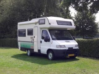"""Sminty Minty"" – Fine / family-friendly Fiat motorhome: last minute and longbook discount"