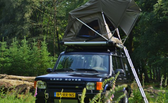 #VanHetPad – ~ Tough Land Rover Discovery with DAKTENT! ~