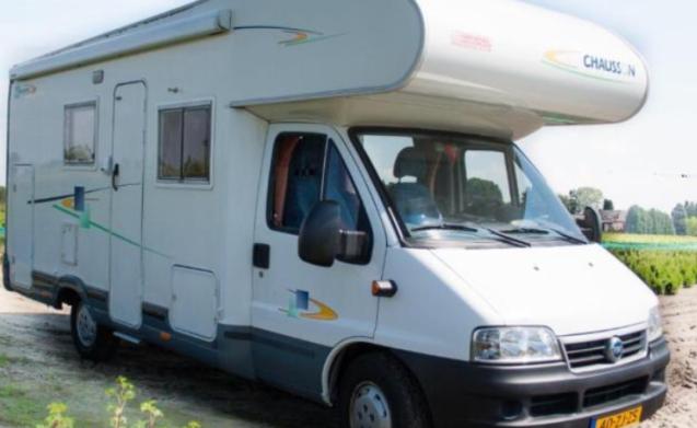 De knusse Buitenlust – Modern 4 person family camper