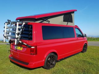 AVAILABLE BANK VW Volkswagen Transporter T6 2016 long wheel base , 4 berth