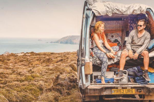 La vita in camper di Ben e Lucy