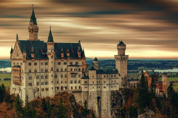 Strada Romantica Germania in camper