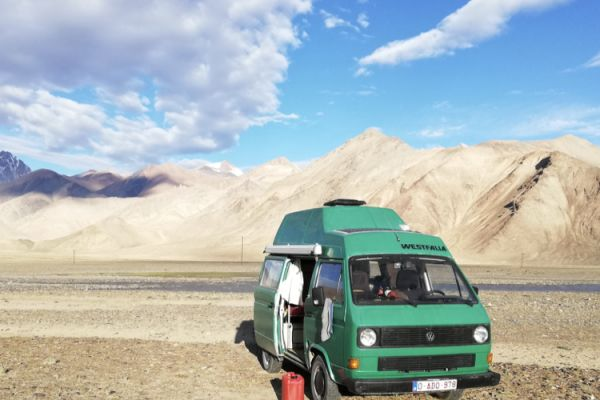 Campervan Road Trip Through Central Asia - The Adventures of Karen and Rudy