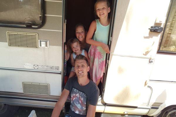 Winnaar Sabrina ging voor het eerst op vakantie met de camper