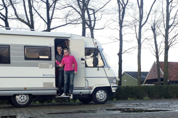Guus en Sandra 3 maanden on the road - Ultiem camper testweekend
