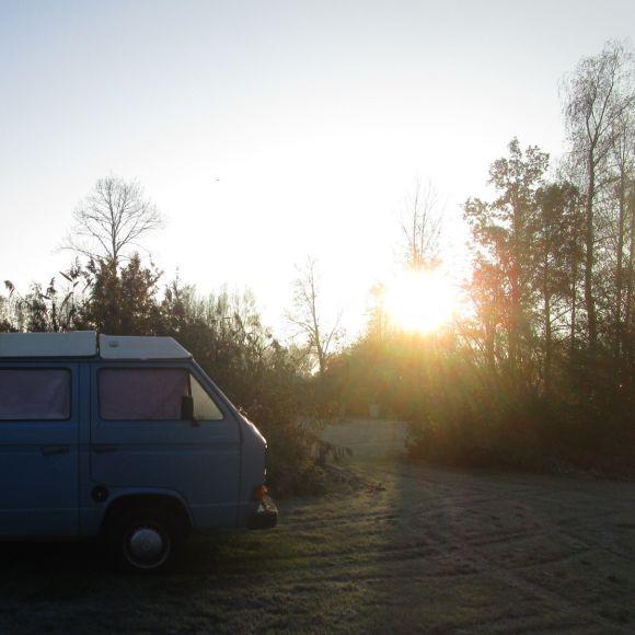 Winterkamperen op wintercamping de Wielewaal