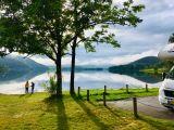 Saskia, Lex, Gijs en Teun trekken in 20 weken door Europa: In Scandinavië komt kamperen altijd goed