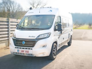 Beautiful Camper, Compact & Quality. Knaus Boxstar Street